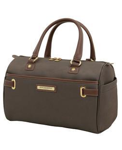 "$140 New London Fog Oxford II Softside 16"" Satchel Luggage T"