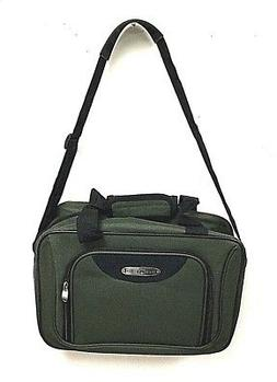 "Travel Select 16"" Olive Green Tote Boarding Bag Fit Laptop C"