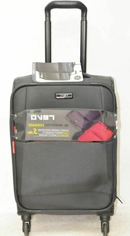 """$160 NEW Revo Airborne 20"""" Soft Case Spinner Suitcase Carry"""