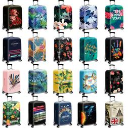 """18"""" -32"""" Printed Elastic Trolley Case Luggage Cover Dust Pro"""