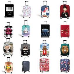 """18""""~32"""" Protective Suitcase Travel Luggage Cover Cartoon Tro"""