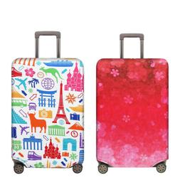 """18""""-32"""" Travel Luggage Protector Cover Elastic Fabric Suitca"""