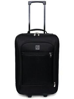"18""  Travel Bag Pilot Case Carry On Luggage Black With Wheel"