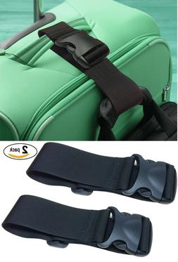 2 Pack add A Bag Luggage Straps, Suitcase Belt, Travel Acces