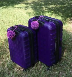 "2 PC Luggage Bag Identifier ID Tag | 4"" Diameter Handmade"