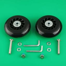 2 Set Luggage Suitcase Replacement Wheels Axles 40 Wrench De