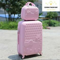 "20""22""24""28"" Hello Kitty Suitcase Set Children Women Luggage"