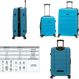 Rockland 20 Inch 28 Inch 2 Piece Expandable Abs Spinner Set,