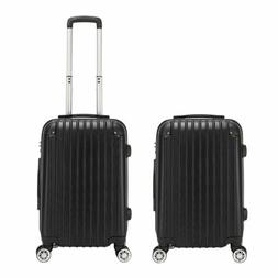 20 Inch Carry-On Lightweight 4-Wheel Spinner Luggage Busines