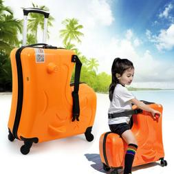 "20"" Travel Luggage 4 Wheels Suitcase Trolley Case Durable Ha"
