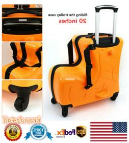 "20"" Travel Luggage Carry Trolley Wheels Case Suitcase Childr"