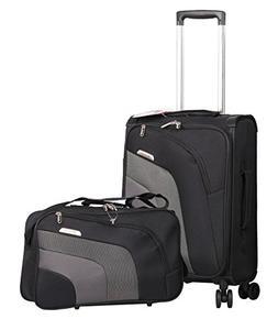"Aerolite 21"" Carry On Ultra Lightweight Spinner Suitcase &"