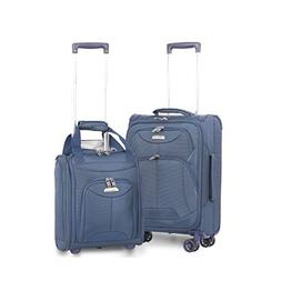 "Aerolite 21"" Inch Carry On Lightweight 4 Wheel Spinner Sui"