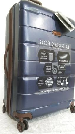 "$280 New London Fog Brentwood 28"" Hardside Spinner Suitcase"