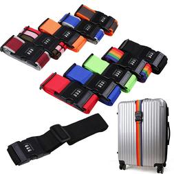 2m Safety Luggage Straps Tie Down Belt for Baggage Travel Bu