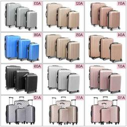 3 4pcs luggage set travel bag trolley