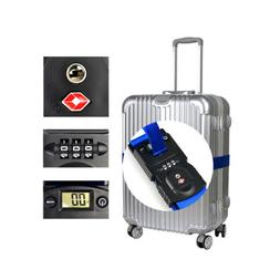 3 in 1 Luggage Strap Scale with TSA Approved Lock Security f