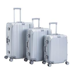 3 PCS Luggage Set Trolley Spinner Travel Bag Carry On Suitca