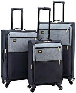LEE 3-Piece Expandable Soft Side Verticals Set with Spinner