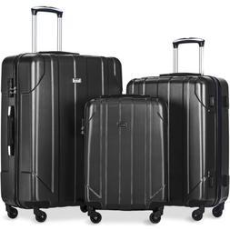 3 piece p e t luggage set