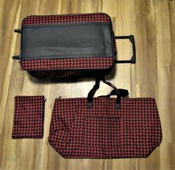 3 Piece Soft Luggage With Wheels