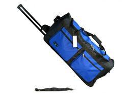 "30"" 50 LB Capacity Rolling Wheeled Duffle Bag / Suitcase /Lu"