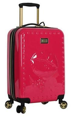 BETSEY JOHNSON 3 PIECE BIG KISS SPINNER LUGGAGE SUITCASE CAR