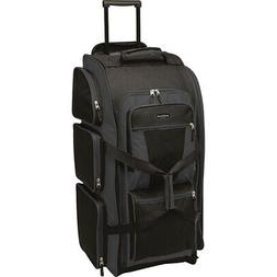 """Travelers Club Luggage 30"""" Xpedition Multi-Pocket Rolling Du"""