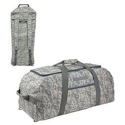 "31"" LARGE ACU Military Army Dufflel Bag  Travel Gym Camoufla"