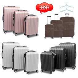 3PC Hardside Spinner Luggage Set 20/24/28 Travel Bag Trolley