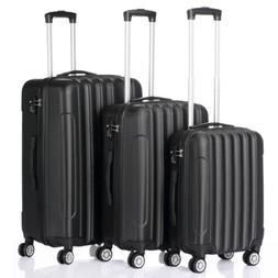 3pcs Large Capacity Suitcase Set Luggage Travel Bag Storage