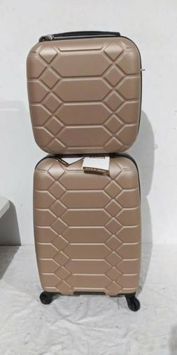 $400 Aimee Kestenberg Diamond 2-PC Carry-On Luggage Set & Un