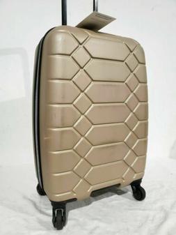 """$400 Aimee Kestenberg Diamond 20"""" Carry-On Luggage Bag Peach"""