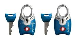 Master Lock 4689Q  TSA Accepted Padlocks with Keys, 4 Pack