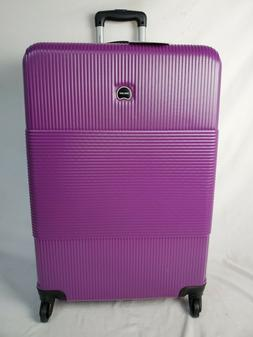 """$480 New Delsey Groove DLX Spinner 29"""" Luggage Suitcase Hard"""