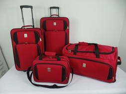 "in2it 4piece Travel Luggage sets - 26"" Check-in + 20"" Carry-"