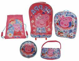 Peppa Pig 5-Piece Luggage Set