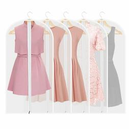 5 Large Suit Travel Bag Garment Bag Long Dress Hanging Cloth