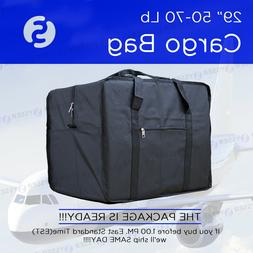 62 INCH 50 - 70 Lb BLACK DUFFEL BAG TRAVEL LUGGAGE SUITCASE