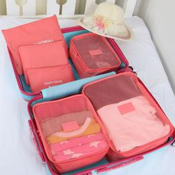 Travel Organizers Packing Cubes Luggage Suitcase Bags Access