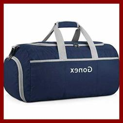 Gonex 90L Packable Travel Duffle Lightweight Luggage Duffel