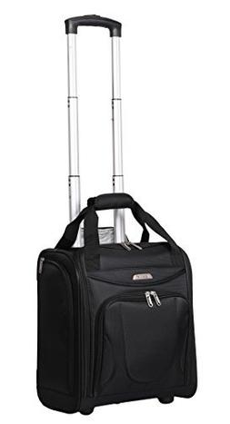 Aerolite Carry On Under Seat Wheeled Trolley Luggage Bag for