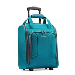 American Tourister 4 Kix Rolling Travel Tote, Teal