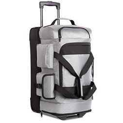Coolife Rolling Duffel Travel Duffel Bag Wheeled Duffel Carr