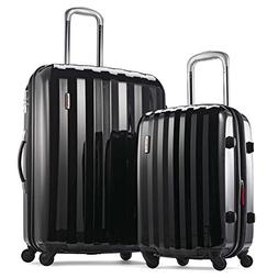 Samsonite Prism Two-Piece Hardside Spinner Set , Black
