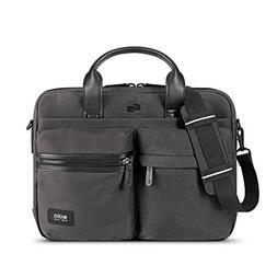 Solo Hamish  Briefcase, Ash