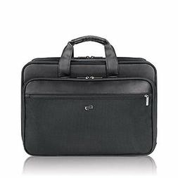 Solo Paramount 16 Inch Laptop Briefcase with Smart Strap, Bl