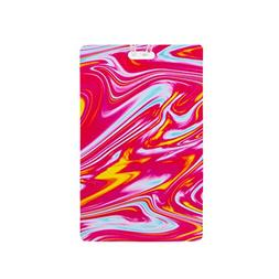 Travelon Personal Expression Luggage Tag, Marble Swirl