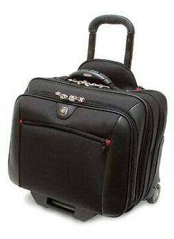 Wenger Potomac Rolling Case Blk Up To 17IN Laptop with day C