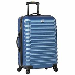 Lucas ABS Mid Size Hard Case 24 Inch Rolling Suitcase With S
